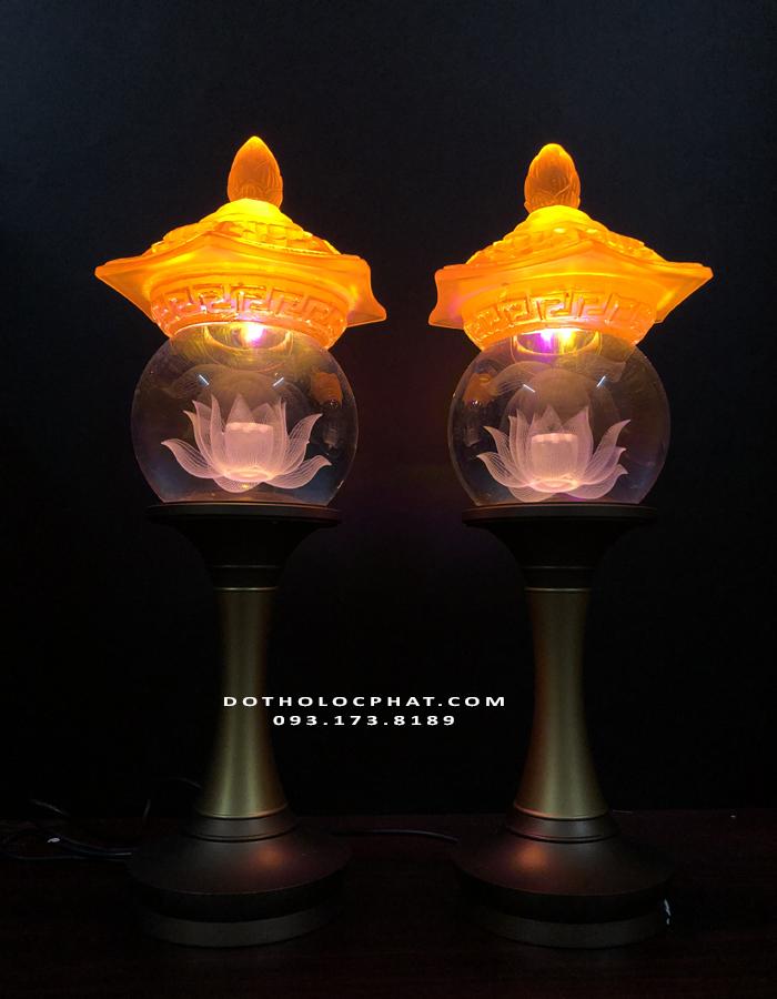 mua đèn thân đồng nắp lưu ly đẹp ở đâu