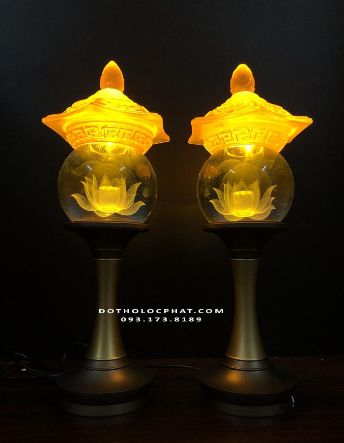 địa chỉ bán đèn thân đồng thờ phật đẹp