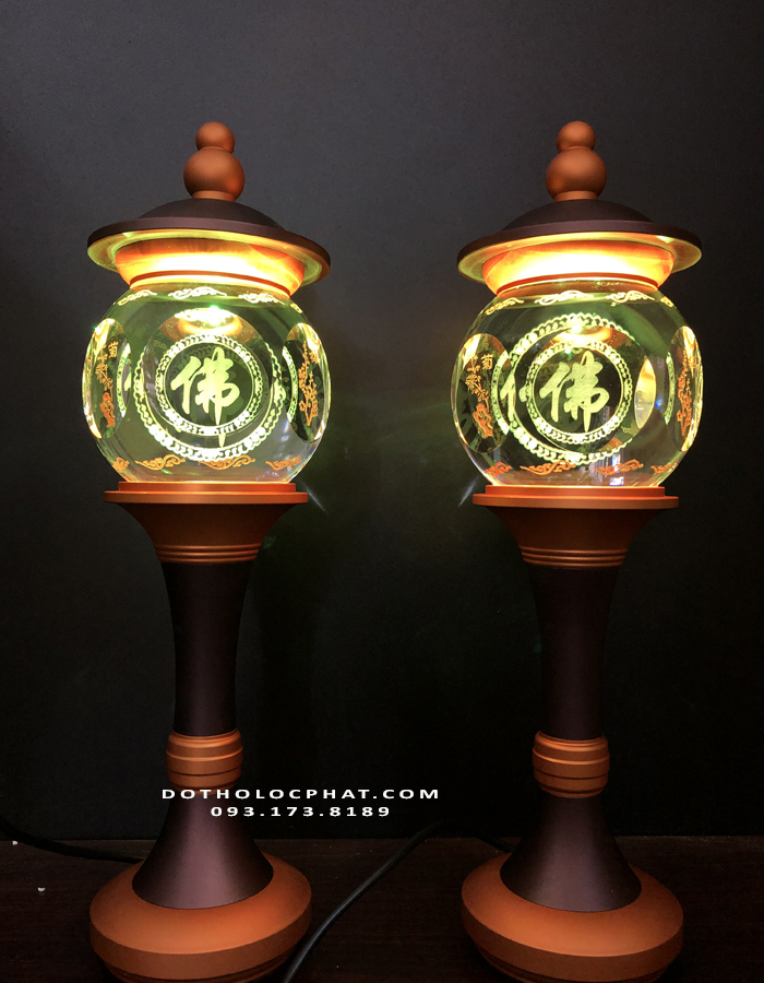 đèn thờ phật quan thế âm bồ tát đẹp giá rẻ