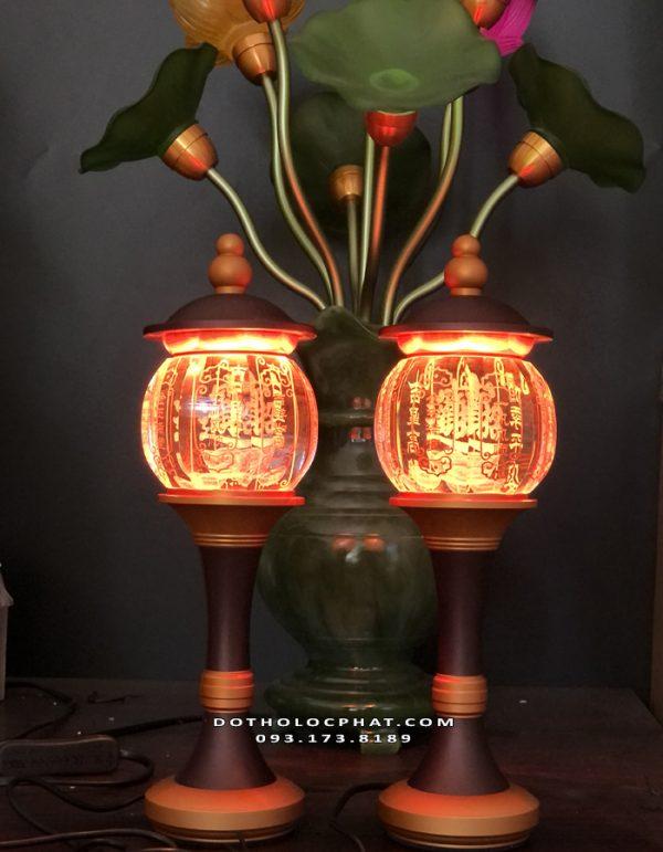 địa chỉ bán đèn thờ cúng chữ phúc đẹp