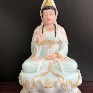 các mẫu tượng phật bà quan âm đẹp cao 40cm