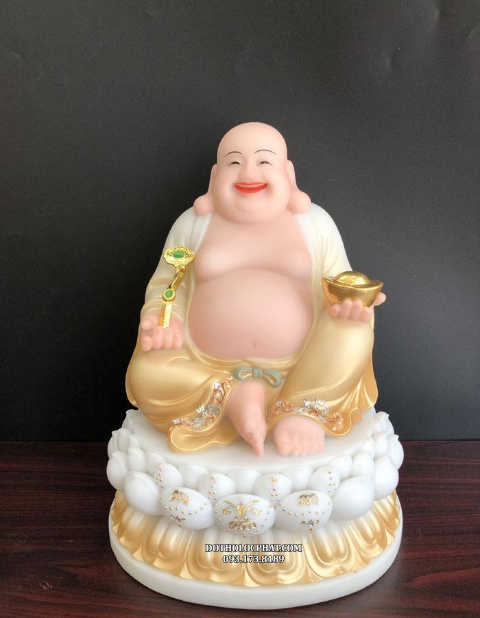 Tượng Phật Di Lặc như ý bột đá khoáng đẹp nhất