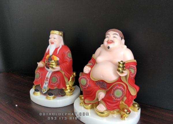 tượng ông địa thần tài vẽ gấm đẹp nhất hcm