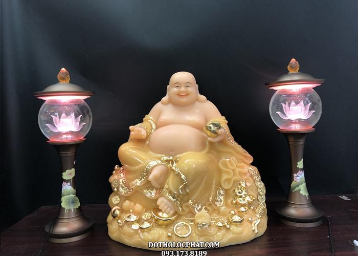 tượng phật di lặc ngồi đứng thạch anh đẹp nhất