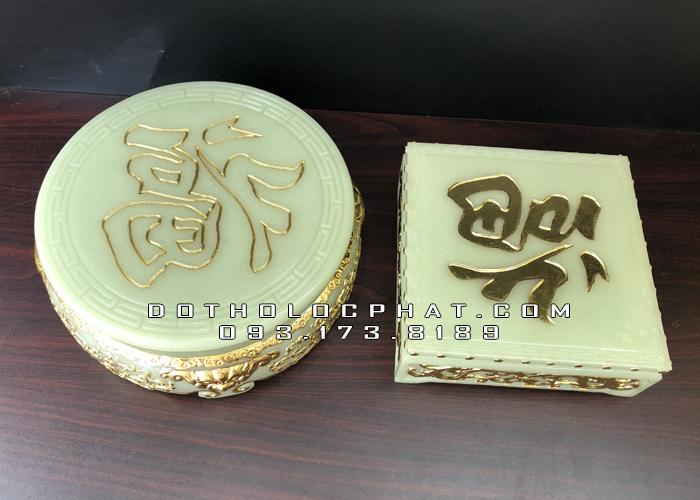 đôn kê tượng tròn bằng bột đá thạch ngọc đẹp nhất hcm